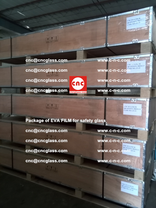 Package of EVA Film for safety laminated glass (35)