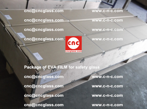 Package of EVA Film for safety laminated glass (8)