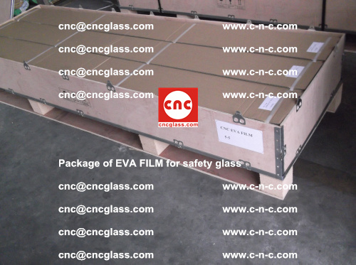 Package of EVA Film for safety laminated glass (9)