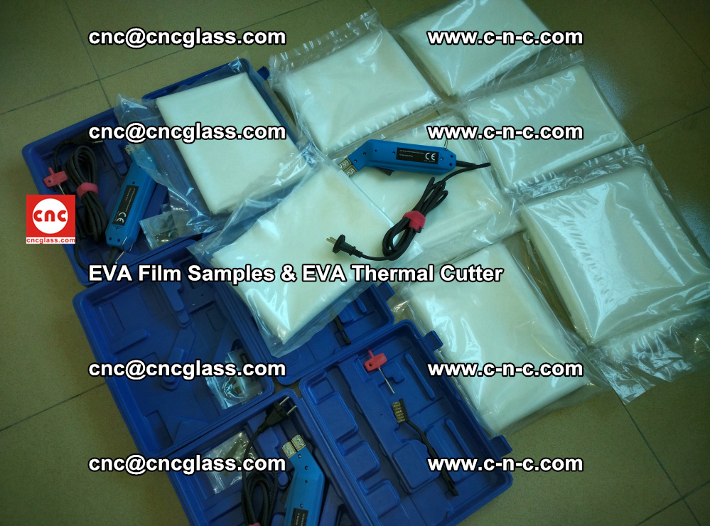 EVAFORCE SUPER CLEAR EVA Film Samples and EVA Thermal Cutter (10)