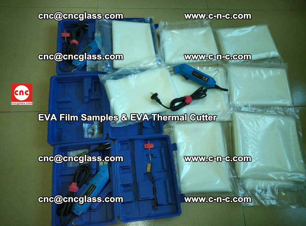 EVAFORCE SUPER CLEAR EVA Film Samples and EVA Thermal Cutter (11)
