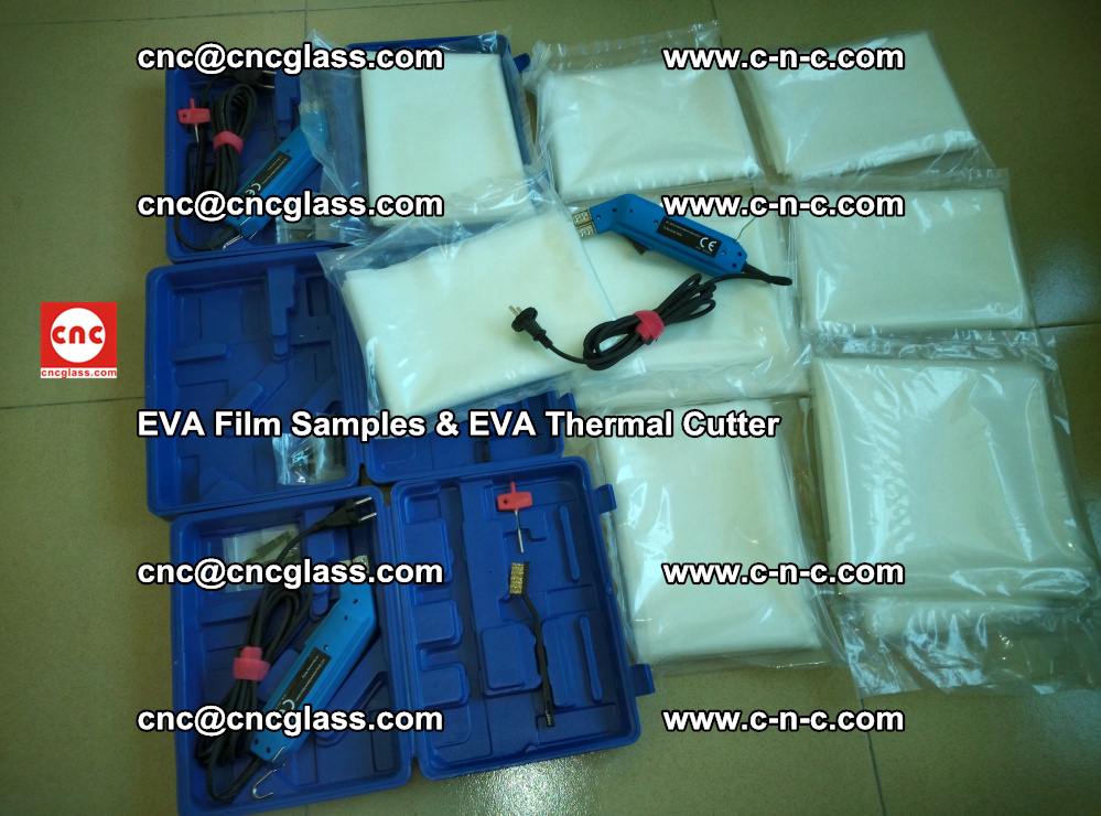 EVAFORCE SUPER CLEAR EVA Film Samples and EVA Thermal Cutter (13)