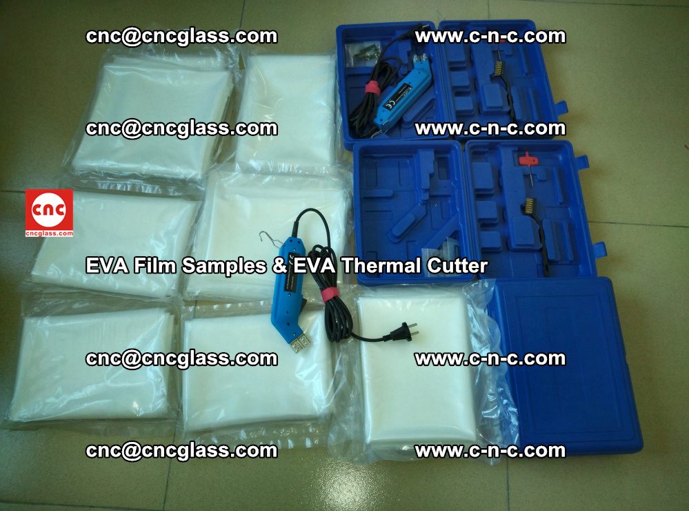 EVAFORCE SUPER CLEAR EVA Film Samples and EVA Thermal Cutter (20)