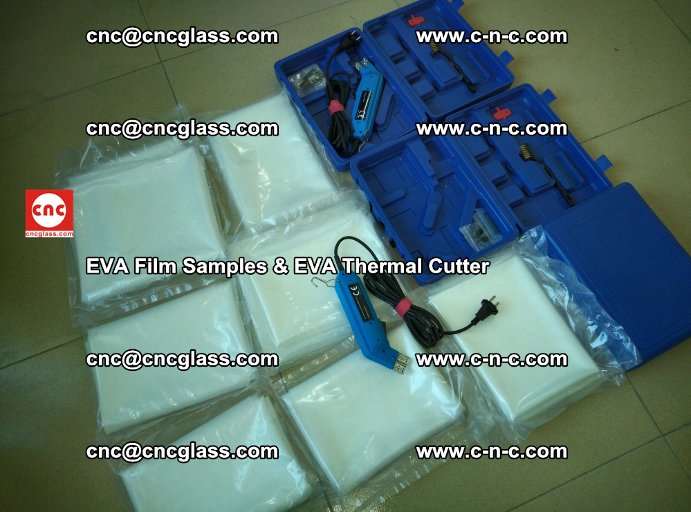 EVAFORCE SUPER CLEAR EVA Film Samples and EVA Thermal Cutter (22)