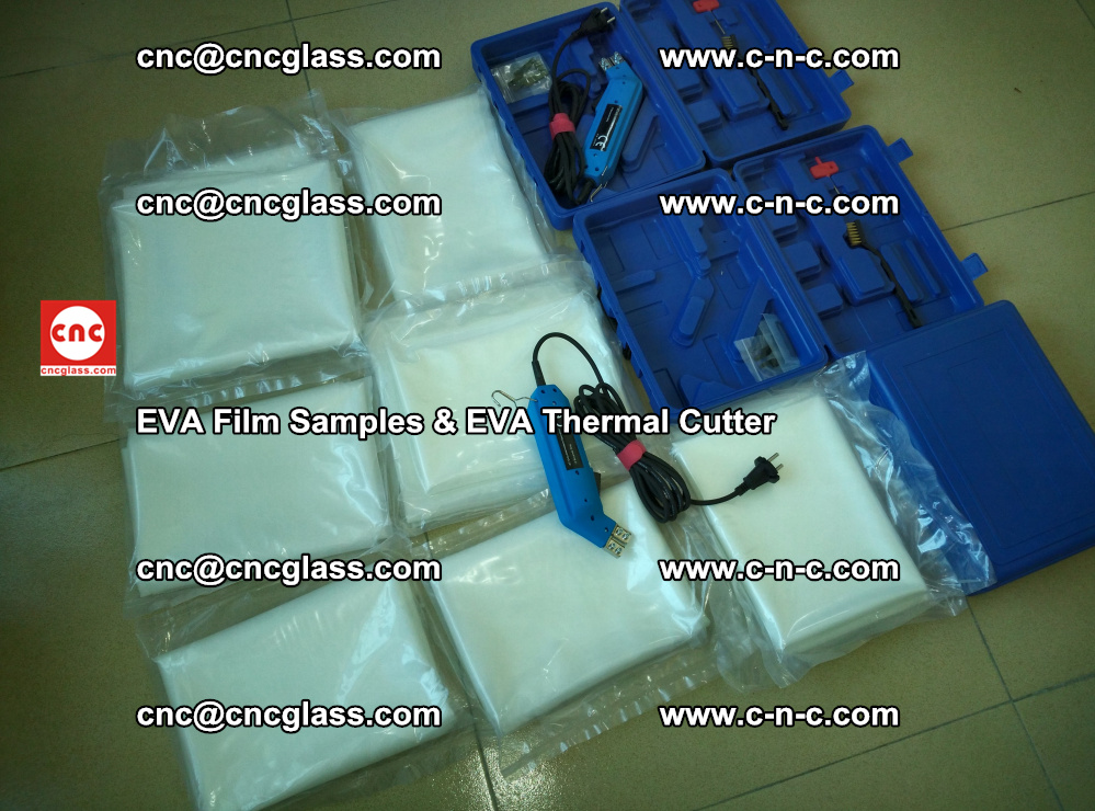 EVAFORCE SUPER CLEAR EVA Film Samples and EVA Thermal Cutter (23)