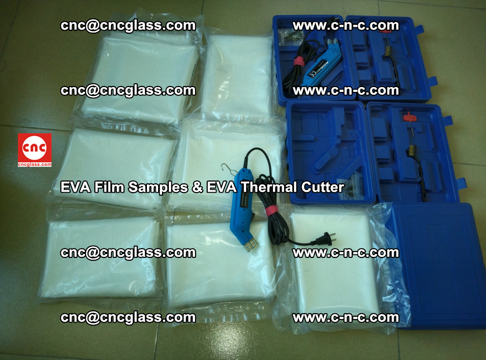 EVAFORCE SUPER CLEAR EVA Film Samples and EVA Thermal Cutter (24)