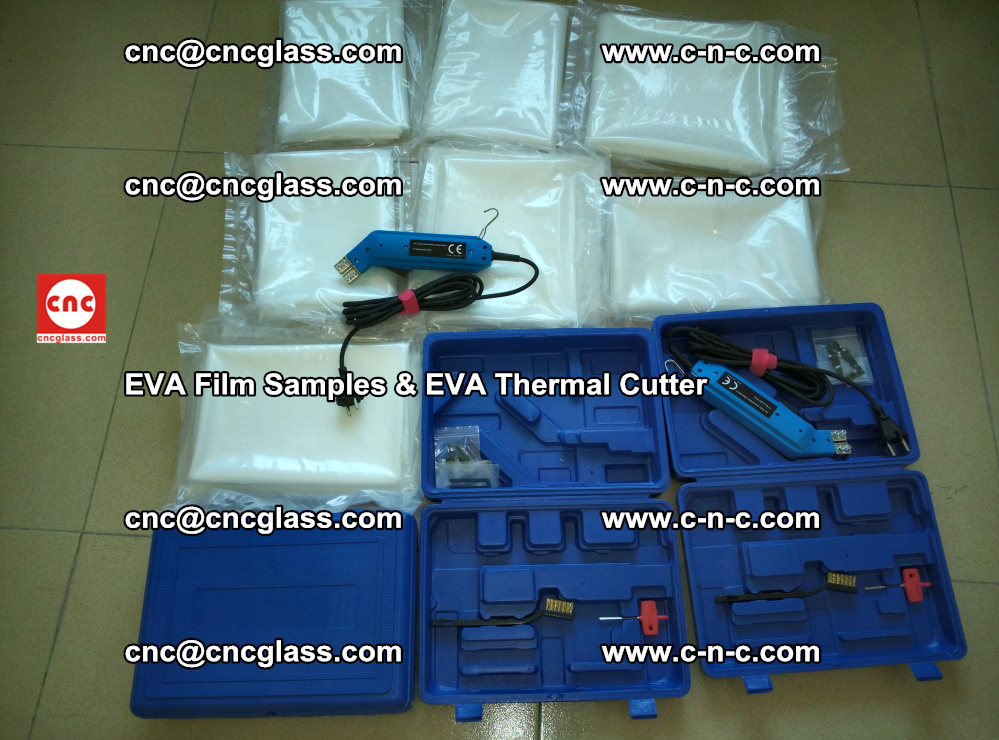 EVAFORCE SUPER CLEAR EVA Film Samples and EVA Thermal Cutter (34)