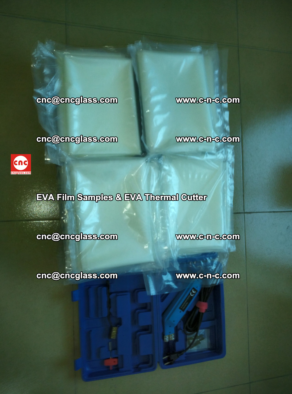 EVAFORCE SUPER CLEAR EVA Film Samples and EVA Thermal Cutter (37)