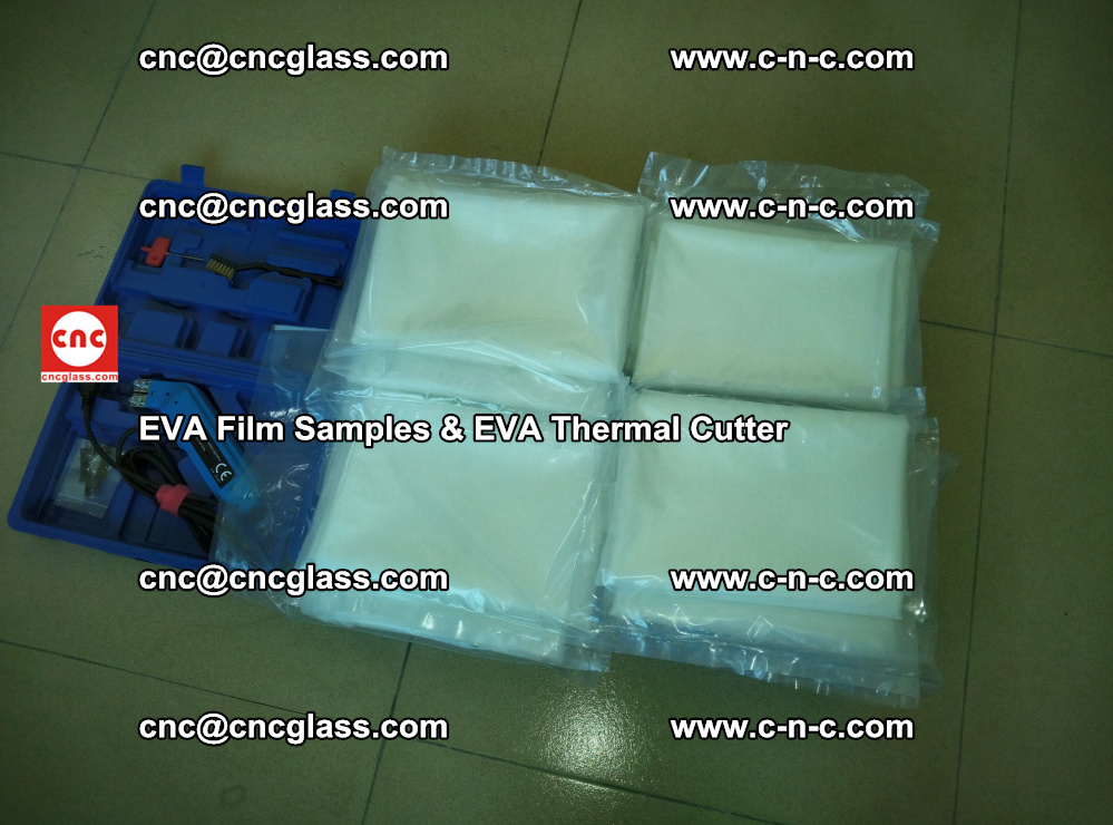 EVAFORCE SUPER CLEAR EVA Film Samples and EVA Thermal Cutter (44)