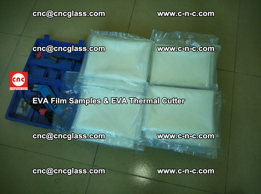 EVAFORCE SUPER CLEAR EVA Film Samples and EVA Thermal Cutter (45)