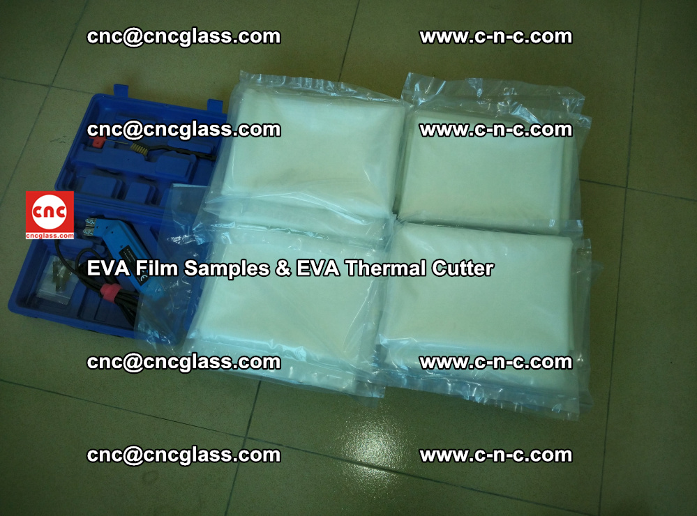 EVAFORCE SUPER CLEAR EVA Film Samples and EVA Thermal Cutter (46)