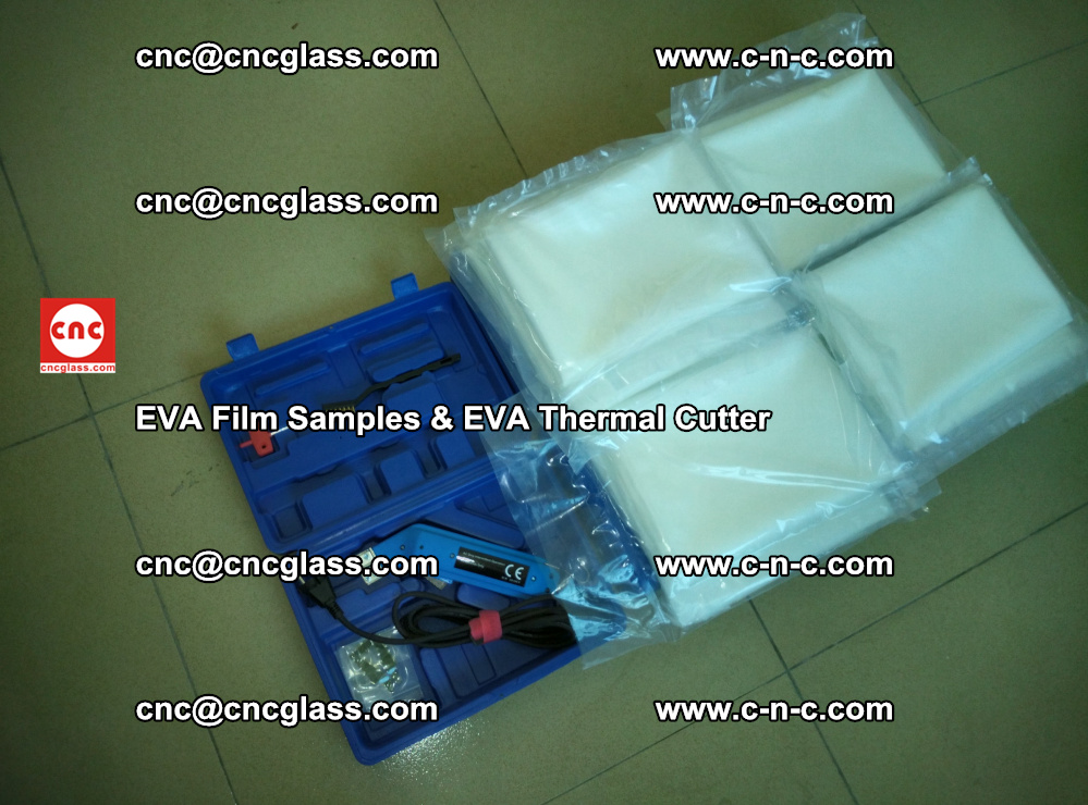 EVAFORCE SUPER CLEAR EVA Film Samples and EVA Thermal Cutter (49)