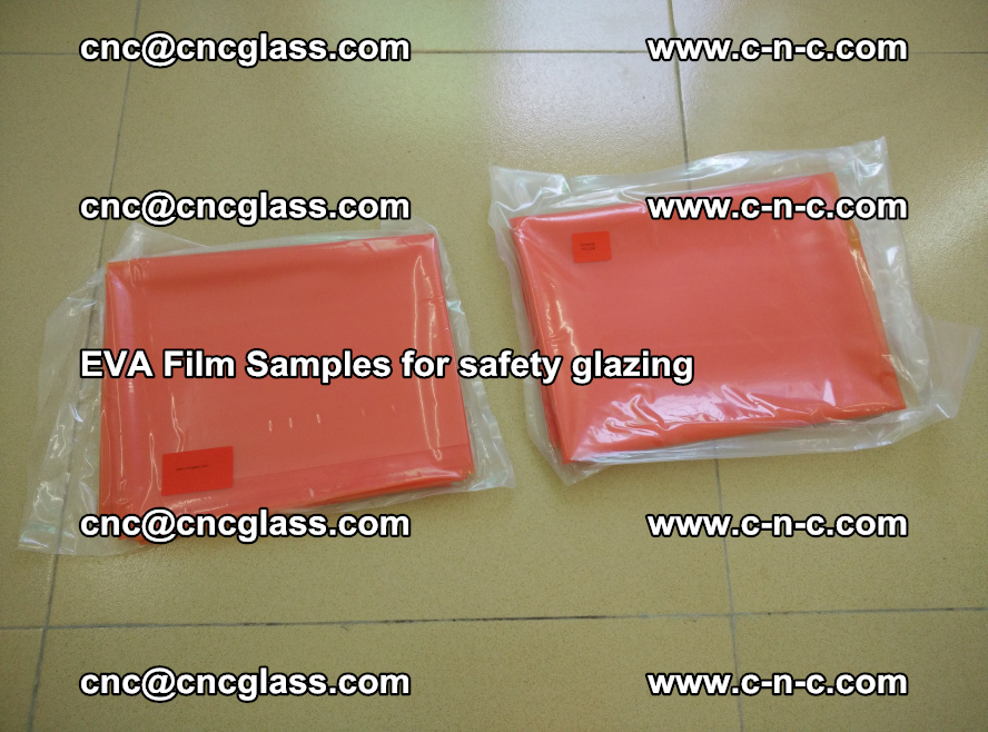 Ethylene Vinyl Acetate EVA FILM INTERLAYER samples for laminated safety glass (10)