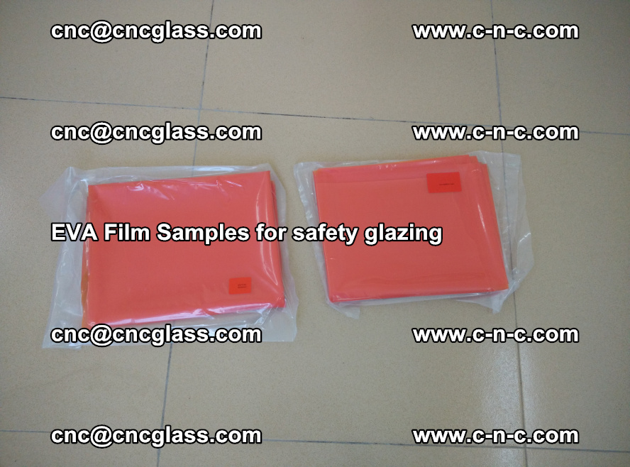Ethylene Vinyl Acetate EVA FILM INTERLAYER samples for laminated safety glass (19)