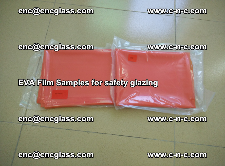 Ethylene Vinyl Acetate EVA FILM INTERLAYER samples for laminated safety glass (2)
