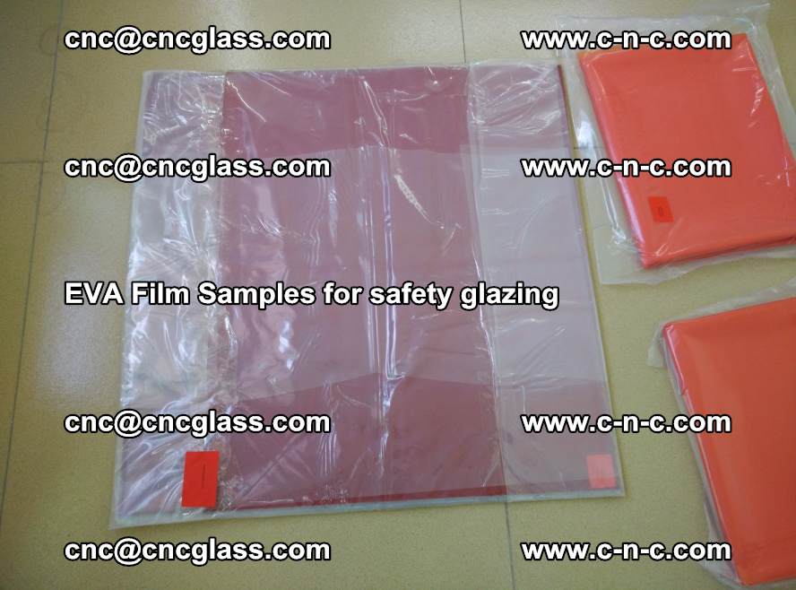 Ethylene Vinyl Acetate EVA FILM INTERLAYER samples for laminated safety glass (23)