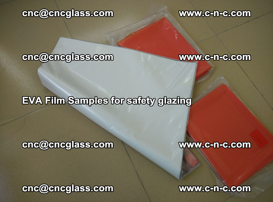Ethylene Vinyl Acetate EVA FILM INTERLAYER samples for laminated safety glass (34)