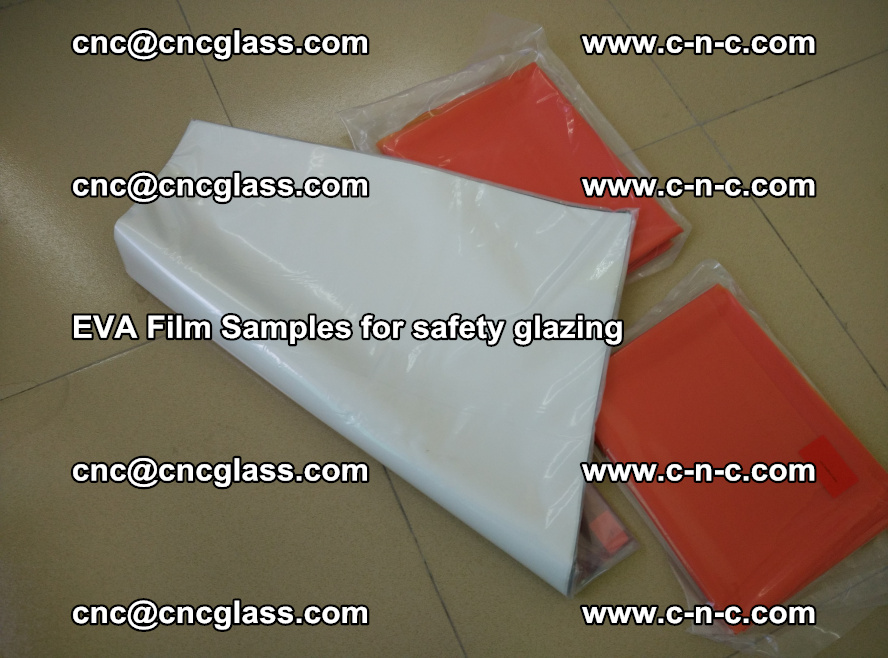 Ethylene Vinyl Acetate EVA FILM INTERLAYER samples for laminated safety glass (35)