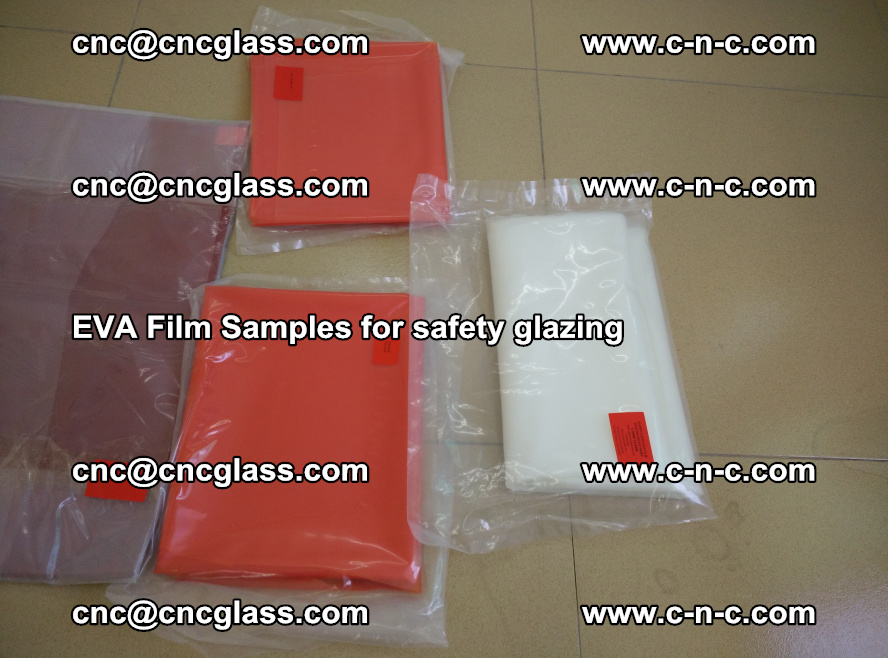 Ethylene Vinyl Acetate EVA FILM INTERLAYER samples for laminated safety glass (53)