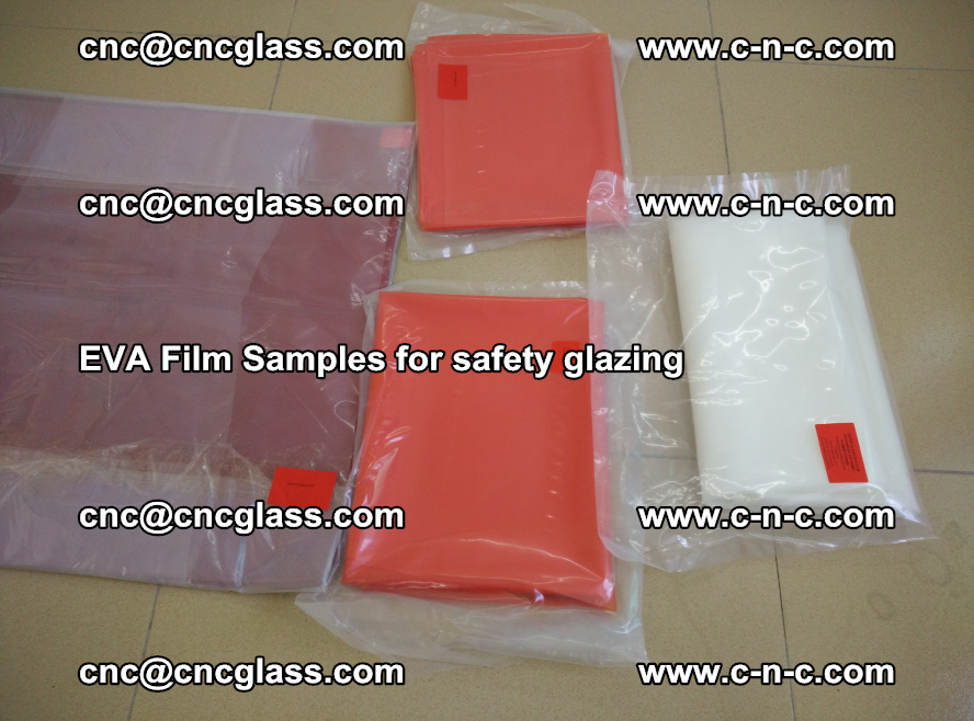 Ethylene Vinyl Acetate EVA FILM INTERLAYER samples for laminated safety glass (56)