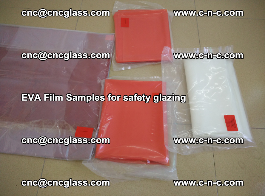 Ethylene Vinyl Acetate EVA FILM INTERLAYER samples for laminated safety glass (57)