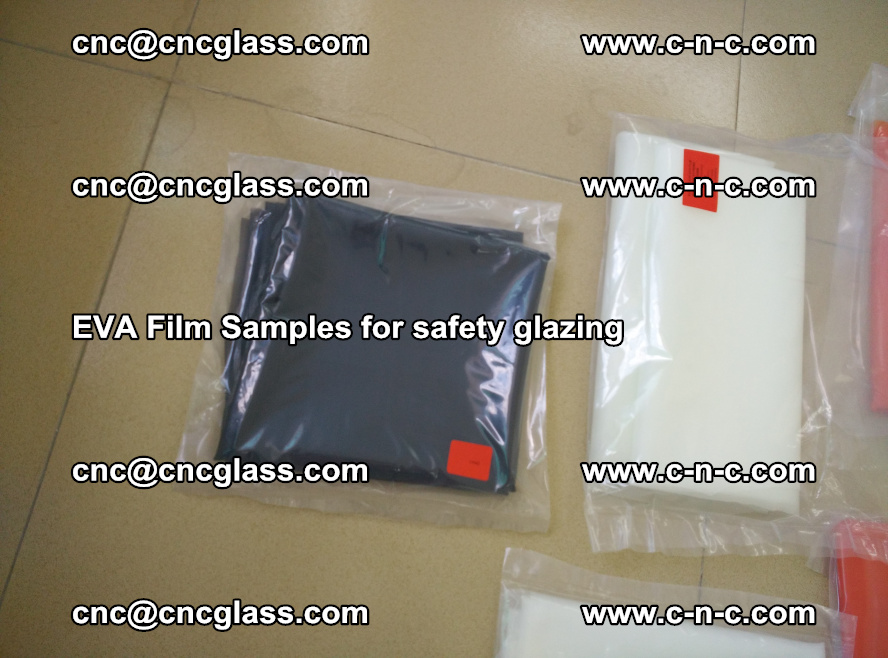 Ethylene Vinyl Acetate EVA FILM INTERLAYER samples for laminated safety glass (69)