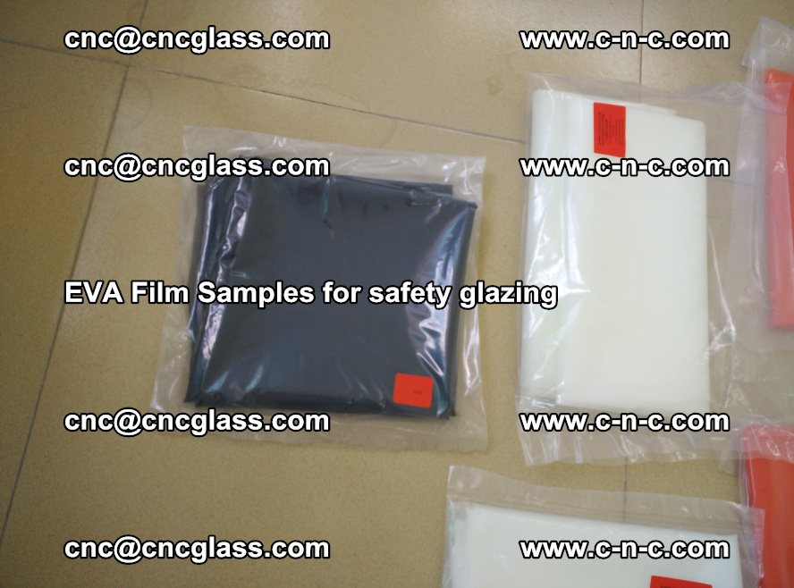 Ethylene Vinyl Acetate EVA FILM INTERLAYER samples for laminated safety glass (71)