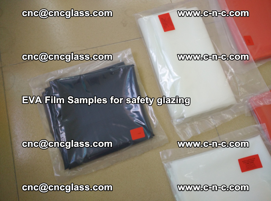 Ethylene Vinyl Acetate EVA FILM INTERLAYER samples for laminated safety glass (73)