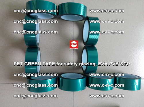 Green Ribbon Tape for safety laminated glass galzing (10)