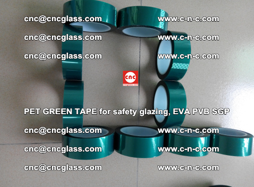 Green Ribbon Tape for safety laminated glass galzing (11)