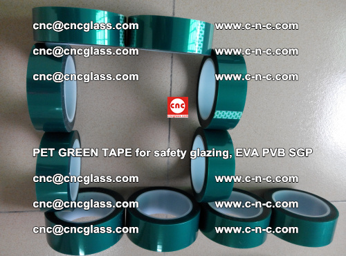 Green Ribbon Tape for safety laminated glass galzing (13)