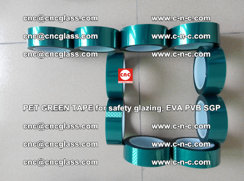 Green Ribbon Tape for safety laminated glass galzing (14)