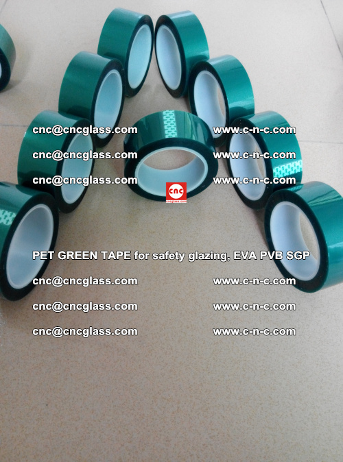 Green Ribbon Tape for safety laminated glass galzing (20)