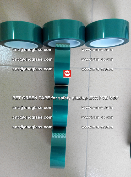 Green Ribbon Tape for safety laminated glass galzing (22)