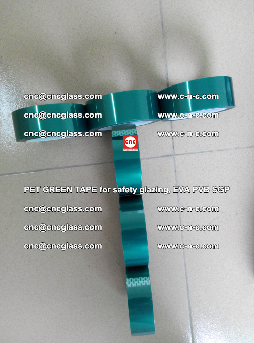 Green Ribbon Tape for safety laminated glass galzing (23)