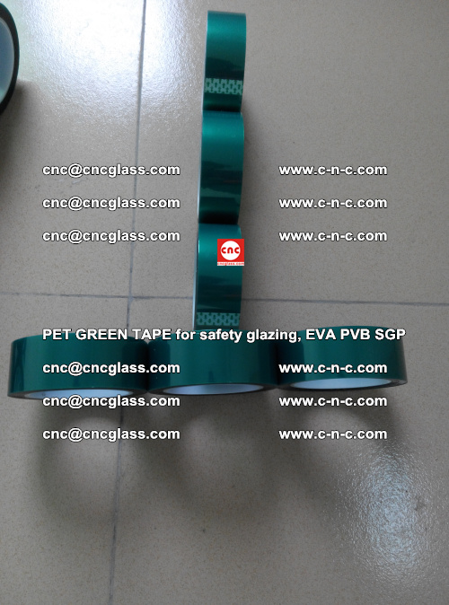 Green Ribbon Tape for safety laminated glass galzing (25)