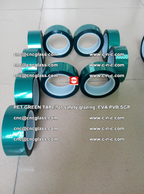 Green Ribbon Tape for safety laminated glass galzing (30)
