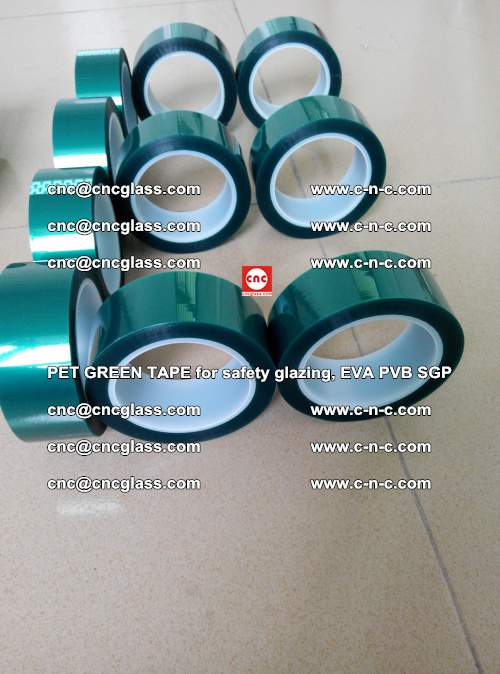 Green Ribbon Tape for safety laminated glass galzing (31)