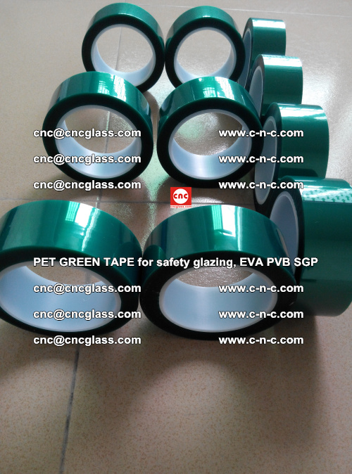 Green Ribbon Tape for safety laminated glass galzing (34)