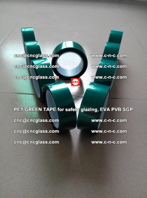 Green Ribbon Tape for safety laminated glass galzing (36)