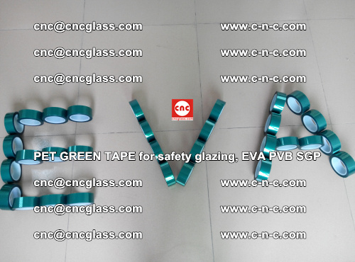 Green Ribbon Tape for safety laminated glass galzing (40)