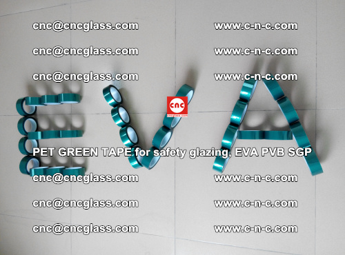 Green Ribbon Tape for safety laminated glass galzing (43)