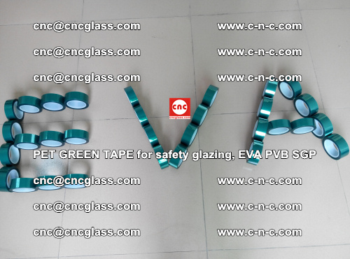 Green Ribbon Tape for safety laminated glass galzing (47)