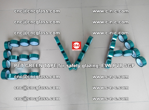 Green Ribbon Tape for safety laminated glass galzing (48)