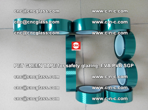 Green Ribbon Tape for safety laminated glass galzing (6)