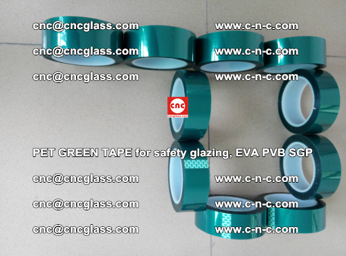 Green Ribbon Tape for safety laminated glass galzing (7)