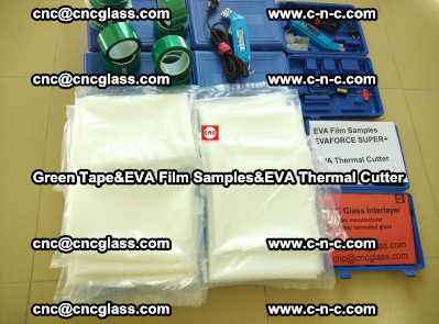 Green Tape, EVA Thermal Cutter, EVAFORCE SPUPER PLUS EVA FILM (10)