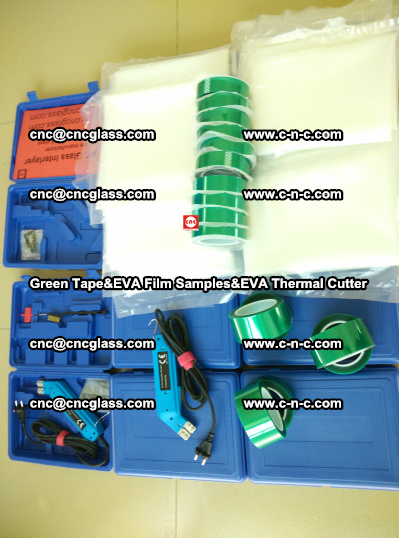 Green Tape, EVA Thermal Cutter, EVAFORCE SPUPER PLUS EVA FILM (100)