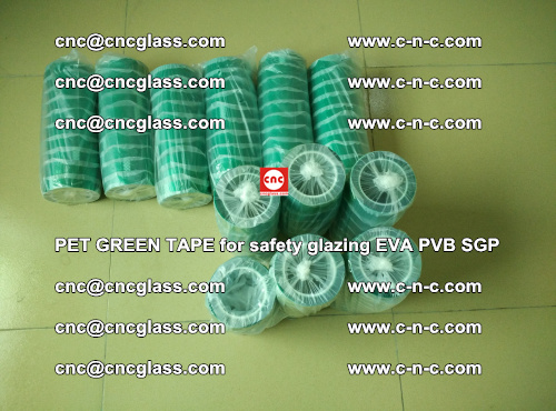PET GREEN TAPE for safety glazing PVB SGP EVA (19)