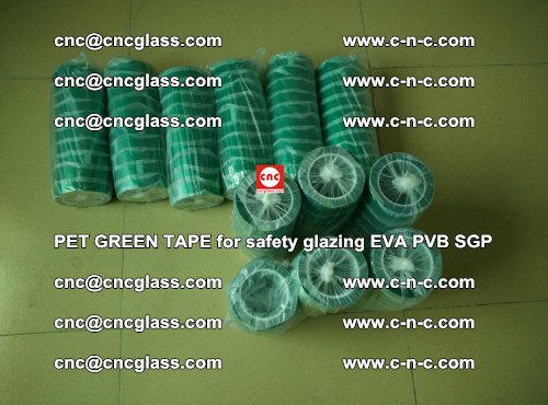 PET GREEN TAPE for safety glazing PVB SGP EVA (20)